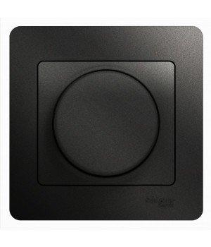 СВЕТОРЕГУЛЯТОР (диммер) LED, 630 Вт (LED до 315 Вт), АНТРАЦИТ
