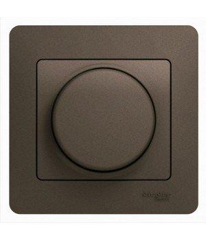 СВЕТОРЕГУЛЯТОР (диммер) LED, 630 Вт (LED до 315 Вт), ШОКОЛАД