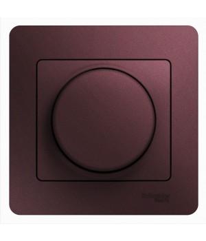 СВЕТОРЕГУЛЯТОР (диммер) LED, 630 Вт (LED до 315 Вт), БАКЛАЖАНОВЫЙ