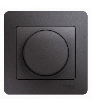 СВЕТОРЕГУЛЯТОР (диммер) LED, 630 Вт (LED до 315 Вт), ГРАФИТ